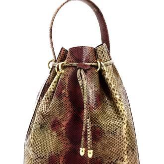 Sac seau cuir, très élégant...  Slow Fashion   #slowfashion #friperie #sac #vintage #secondemain #marketplace #enligne #elegance #cuir #madeinfrance #like #fripari #new #in #fashioninyou
